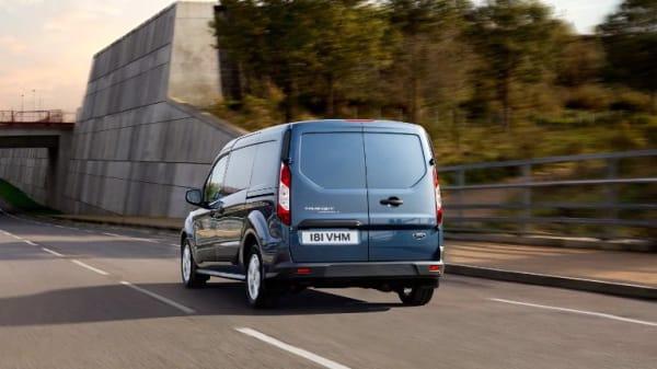 Illus. Ford Transit Connect med lavest drivstoffeffektivitet og nyttelast på opptil et tonn