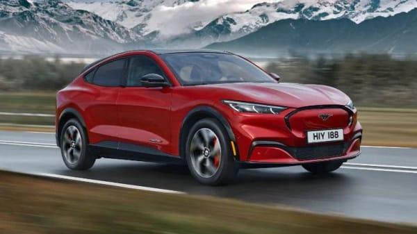 Illus. Ford Mustang Mach-E: Norges mest solgte bil i juli
