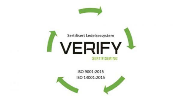 Illus. Valhall is now ISO Certified