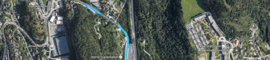 Du finner oss sentralt i Fagerdalen nærings- og industriområde i Godvik, Bergen
