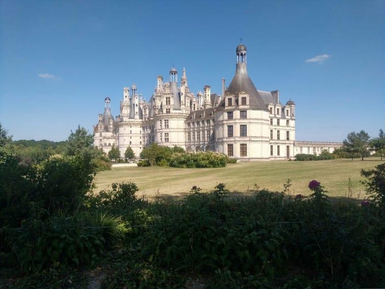 Château de Chambord i Frankrike