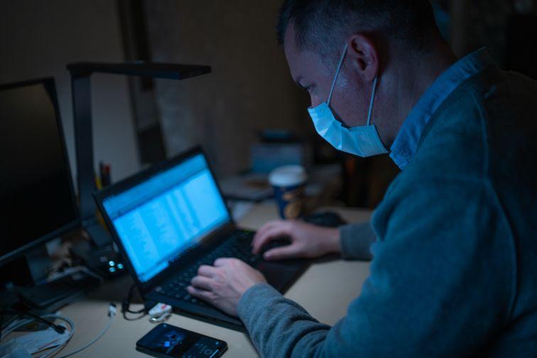 Virus på datamaskin