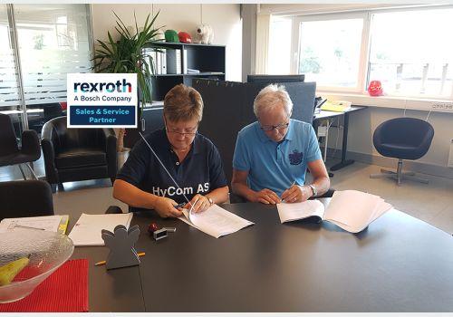 Illus. HyCom har signert avtale med Bosch Rexroth
