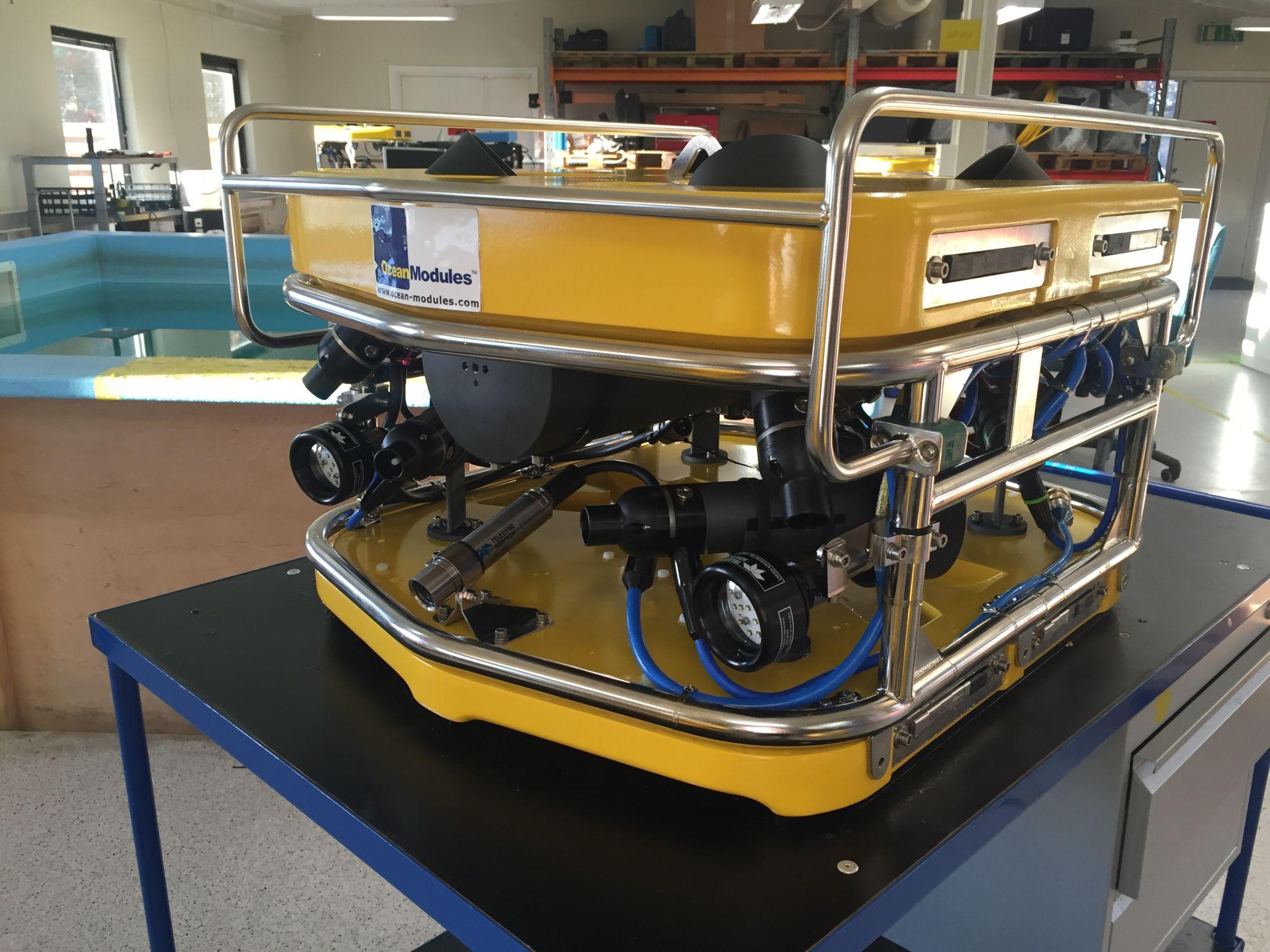Det tredje ROV system til Sellafield.