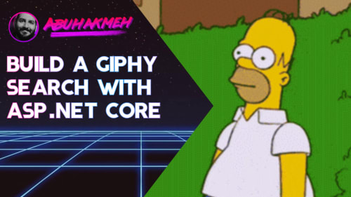 Build A Giphy Search With ASP.NET Core