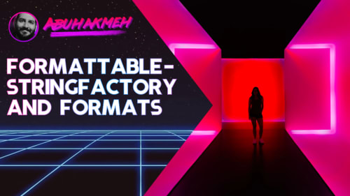 FormattableStringFactory and Formats