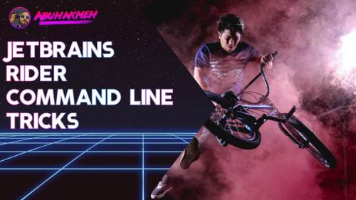JetBrains Rider Command Line Tricks