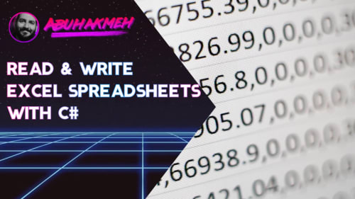 Read and Write Excel Spreadsheets With C#