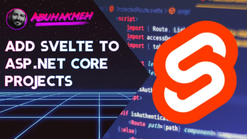 Add Svelte To ASP.NET Core Projects