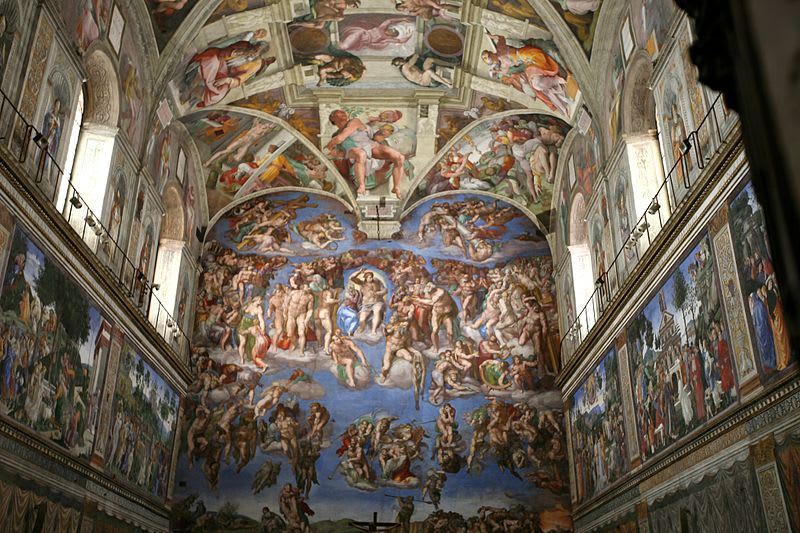 Michaelangelo The Sistine Chapel