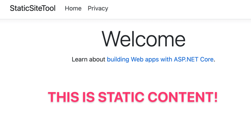 static file being served from ASP.NET Core