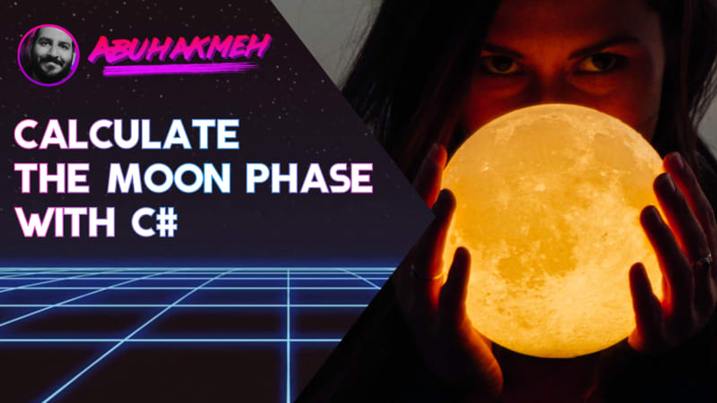 Calculate the Moon Phase With C#