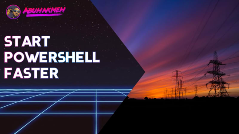 Start PowerShell Faster With This One Trick