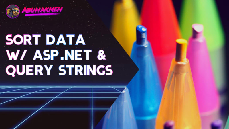 Sort Data With ASP.NET Core and Query Strings