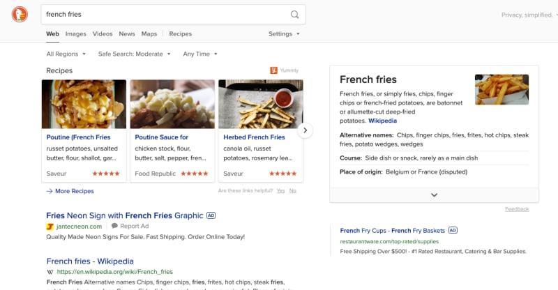 search presentation