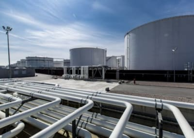 Discharge, storage and distribution facilities for crude oil and its products (PEI) Ltd