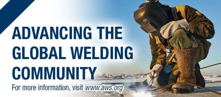 AWS Certified Welding Inspectors (CWI)