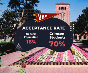 Crimson Education - Acceptance Rate Facts - USC
