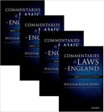 Book Cover for Commentaries on the Laws of England