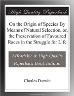 Book Cover for On the Origin of Species by Means of Natural Selection