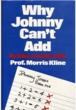 Book Cover for Why Johnny Can't Add