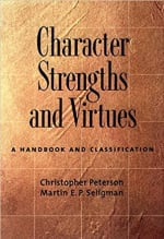 Book Cover for Character Strengths and Virtues: A Handbook and Classification