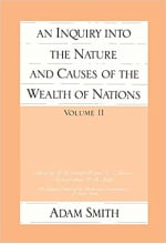 Book Cover for An Inquiry into the Nature and Causes of the Wealth of Nations