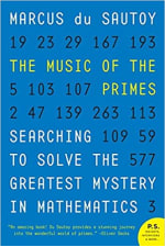 Book Cover for The Music of the Primes