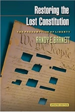 Book Cover for Restoring the Lost Constitution