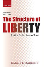 Book Cover for The Structure of Liberty