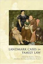 Book Cover for Landmark Cases in Family Law