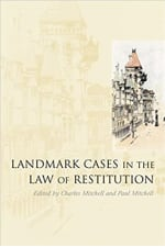 Book Cover for Landmark Cases in the Law of Restitution