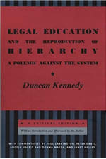 Book Cover for Legal Education and the Reproduction of Hierarchy