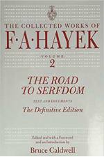 Book Cover for The Road to Serfdom