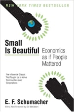 Book Cover for Small is Beautiful