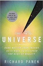 Book Cover for The 4 Percent Universe: Dark Matter, Dark Energy, and the Race to Discover the Rest of Reality