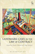 Book Cover for Landmark Cases in the Law of Contract