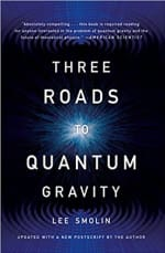 Book Cover for Three Roads to Quantum Gravity