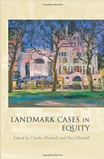 Book Cover for Landmark Cases in Equity