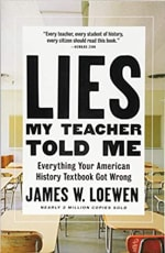 Book Cover for Lies My Teacher Told Me