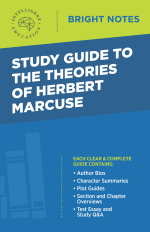 Bright Notes Cover for The Theories of Herbert Marcuse