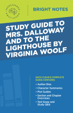 Bright Notes Cover for Mrs. Dalloway and To the Lighthouse by Virginia Woolf