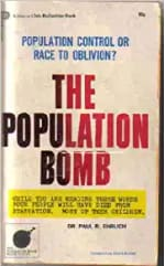 Book Cover for The Population Bomb