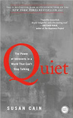 Book Cover for Quiet: The Power of Introverts in a World That Can't Stop Talking