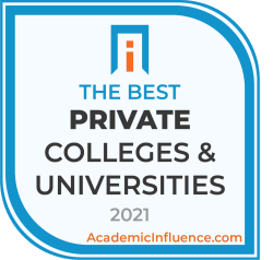 Badge for the Best Private Colleges and Universities