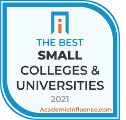 Badge for the Best Small Colleges and Universities