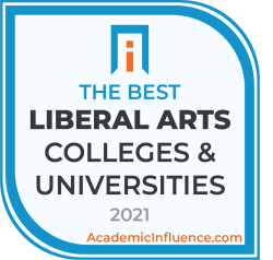 Badge for the Best Liberal Arts Colleges and Universities