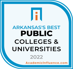 Arkansas's Best Public Colleges 2021 badge