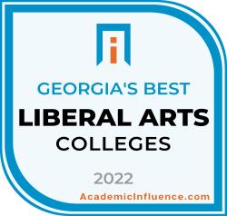 Georgia's Best Colleges and Universities 2021 badge