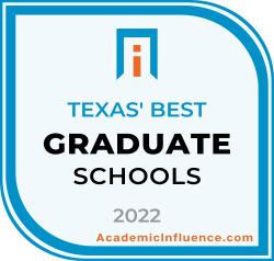 Texas's Best Grad Schools 2021 badge